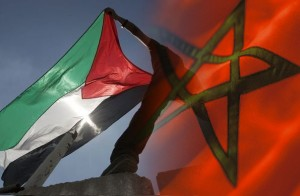 morocco-palestine-flags