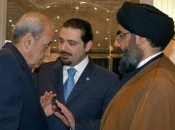 Lebanon-Nasrallah-Hariri