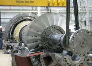 Gasturbine SGT6-5000F / Gas turbine SGT6-5000F