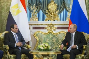 Egyptian President Starts another Visit to Moscow
