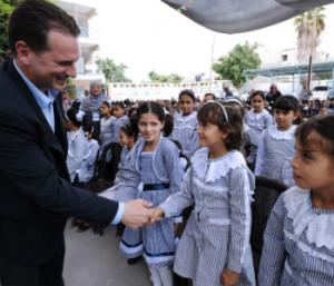 Palestine-UN: UN to re-open schools for Palestinian children despite lack of funds