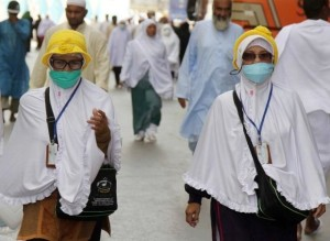 Pilgrims arrive for Hajj as Kingdom battles MERS