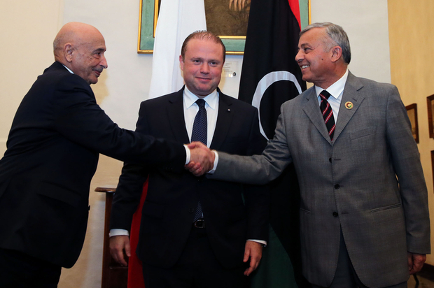 Libya Skhirat Awaits Libya Political Agreement Signing Today