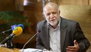 Iran's Oil Minister Bijan Namdar Zanganeh