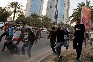 Bahrain-proetesters